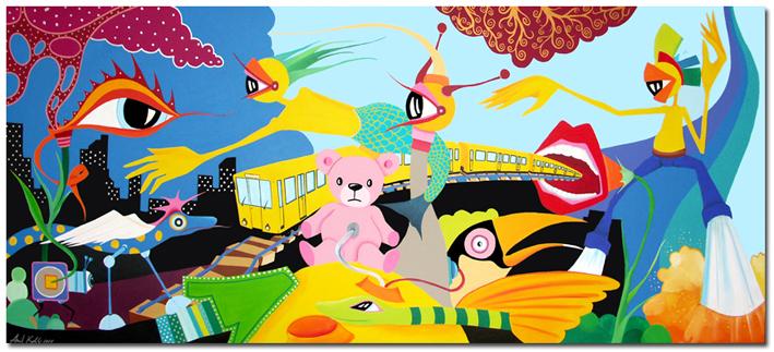 Künstler Maler Berlin berliner malerei moderne kunst galerie berlin künstler anil kohli
